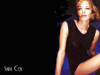 British star Sara Cox Hot Wallpaper