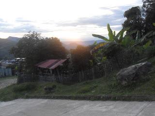 atardecer en Villarrica Tolima
