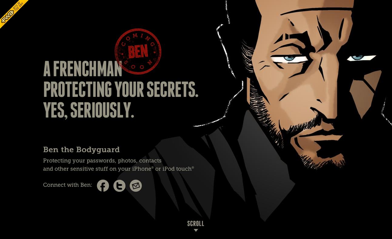 Web design digitale kommunikation ben the bodyguard - Bodyguard idee ...