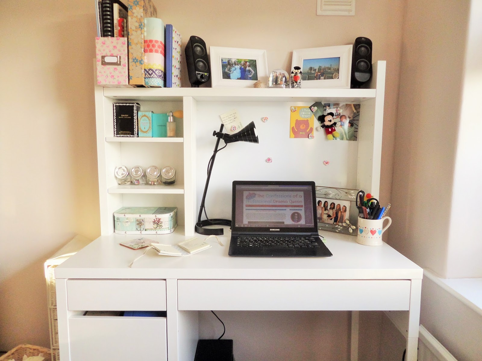 Creative workspace lifestyle and beauty blog drama - Schreibtisch tumblr ...