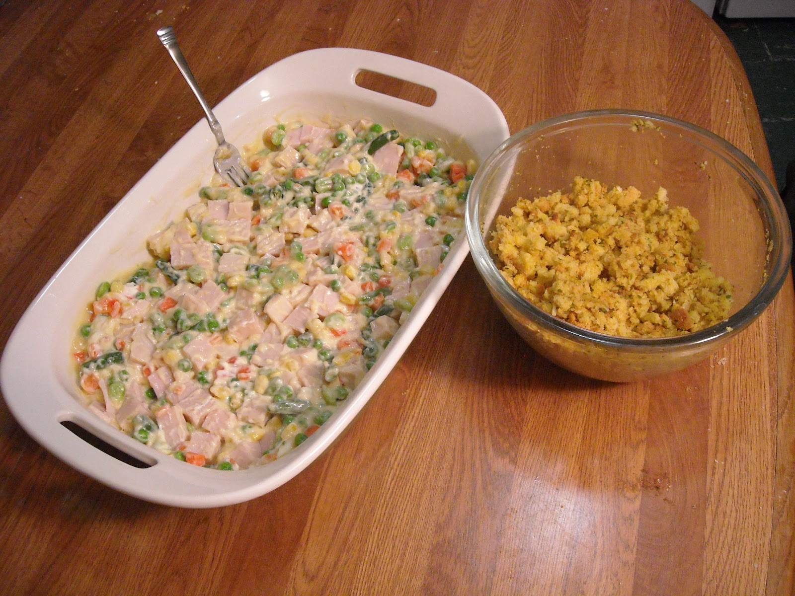 recipe on back: Stove Top Stuffing Easy Chicken Bake