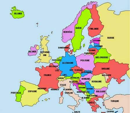Les pays européens