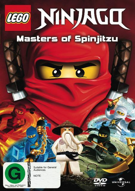Ninjago: Masters of Spinjitzu (TV) [Avi][Latino][2011][Animación]