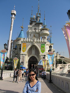 Seoul Lotte World castle