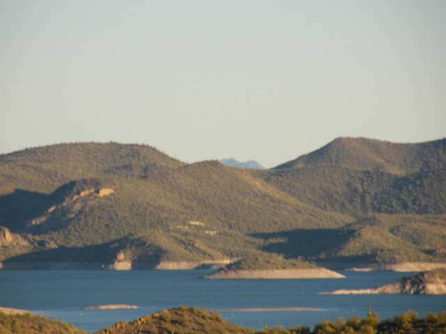 Lake Pleasant, Arizona in the winter sunshine