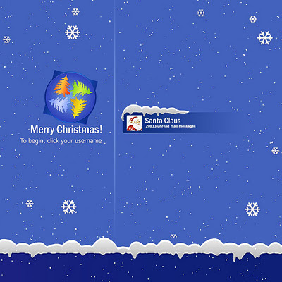 Christmas Windows login download free wallpapers for Apple iPad