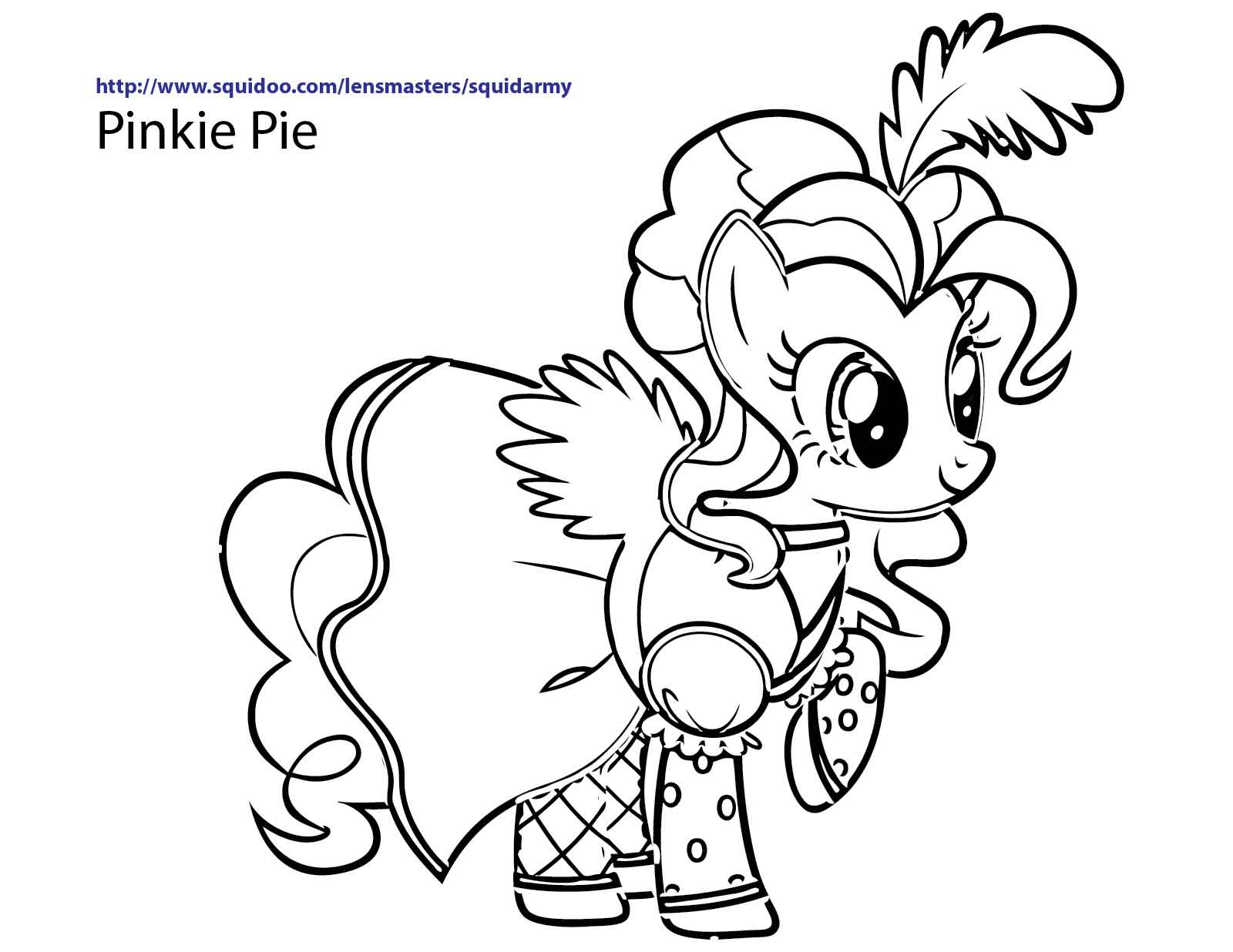 Free Coloring Pages My Little Pony Coloring Pages