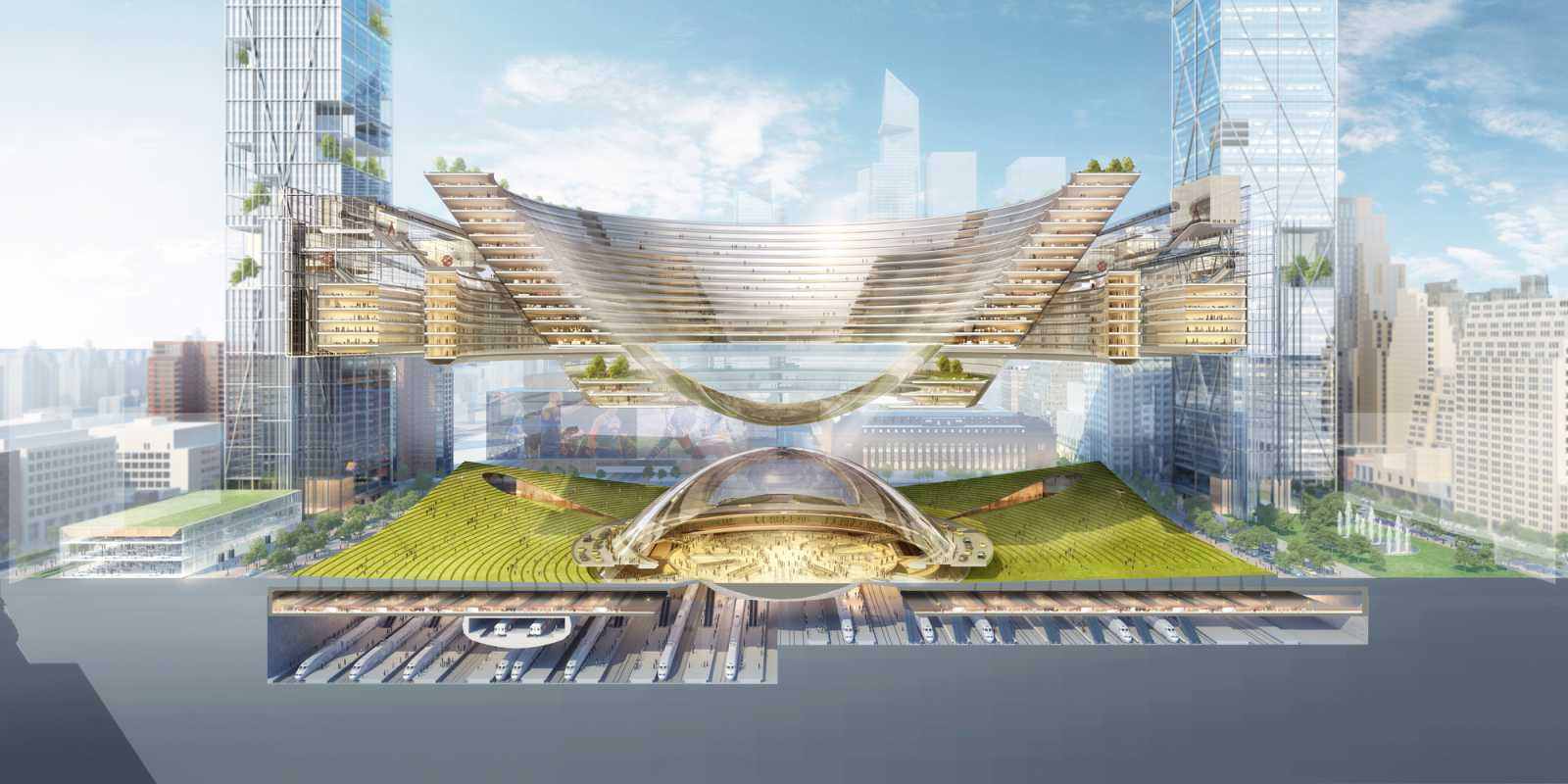 Plans For Penn Station By Som