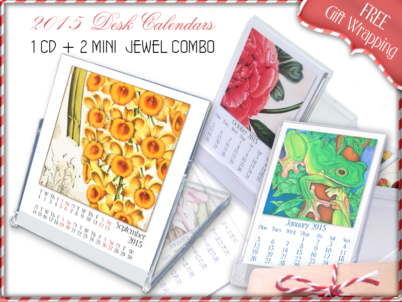 2015 Desk Calendars now in the Shop