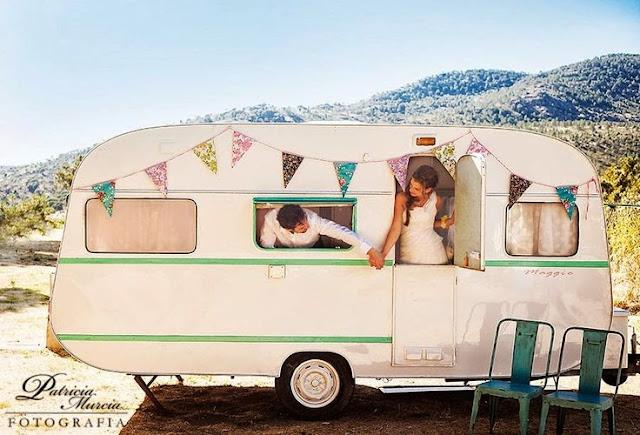 Boda de camping