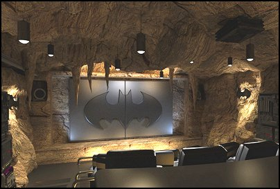 man cave Batman
