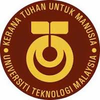Jawatan Kosong Universiti Teknologi Malaysia UTM Tarikh Tutup 30 September 2014
