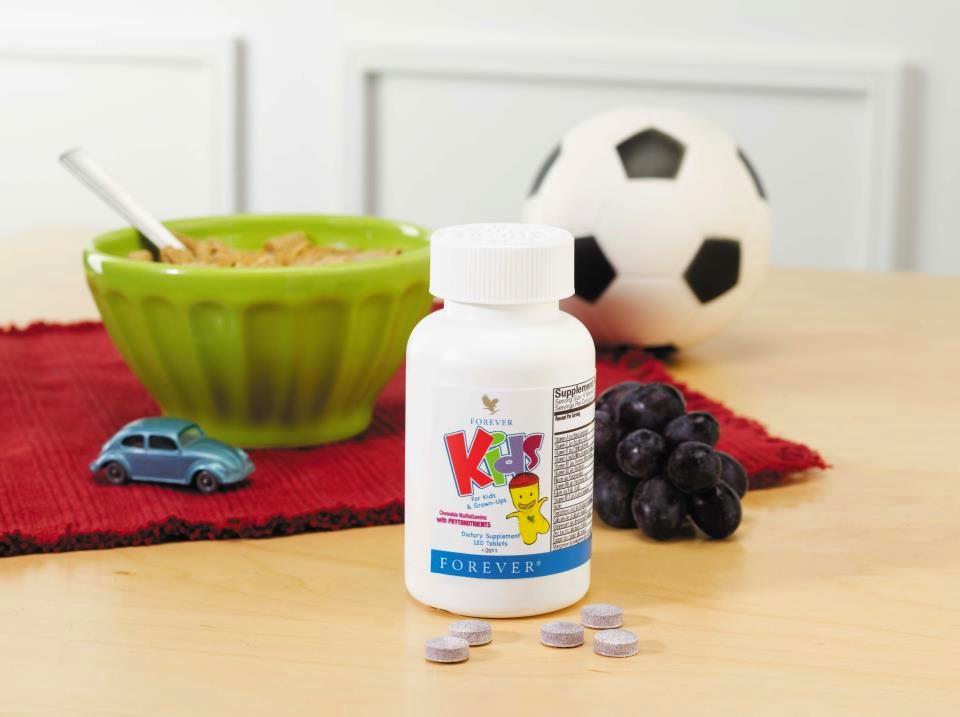 Thành phần Forever Kids bổ sung vitamin khoáng chất cho trẻ em Mã số: 354