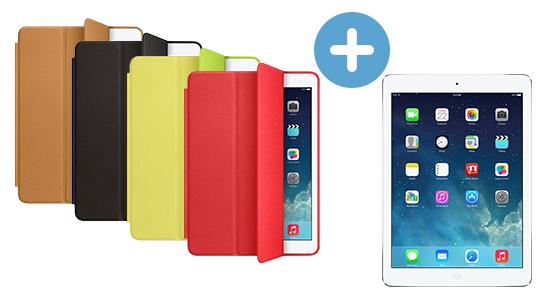 Акция чехол и защитная пленка всем покупателям iPad в подарок | Action Case and Screen Protector