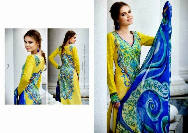 Lawn Collection Printed Back & Front