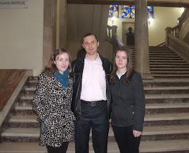 Aspect dijn timpul vizitei la Universitatea din Iaşi, 11.04.2013...