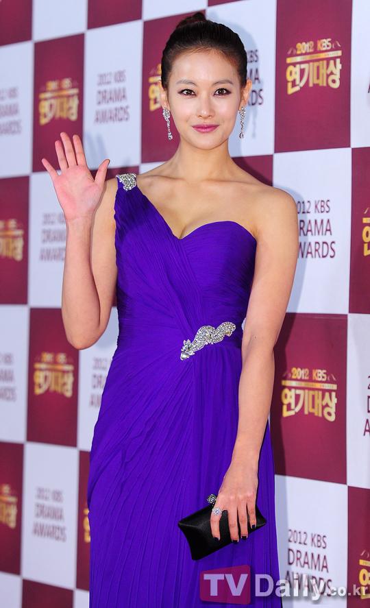 Oh Yeon Seo 2012 KBS Drama Awards