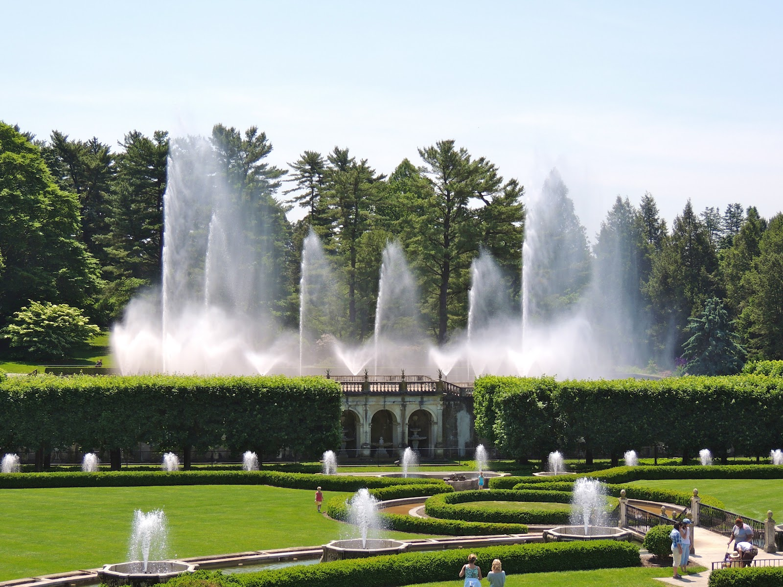 Longwood gardens kennett square pa for Landscaping longwood