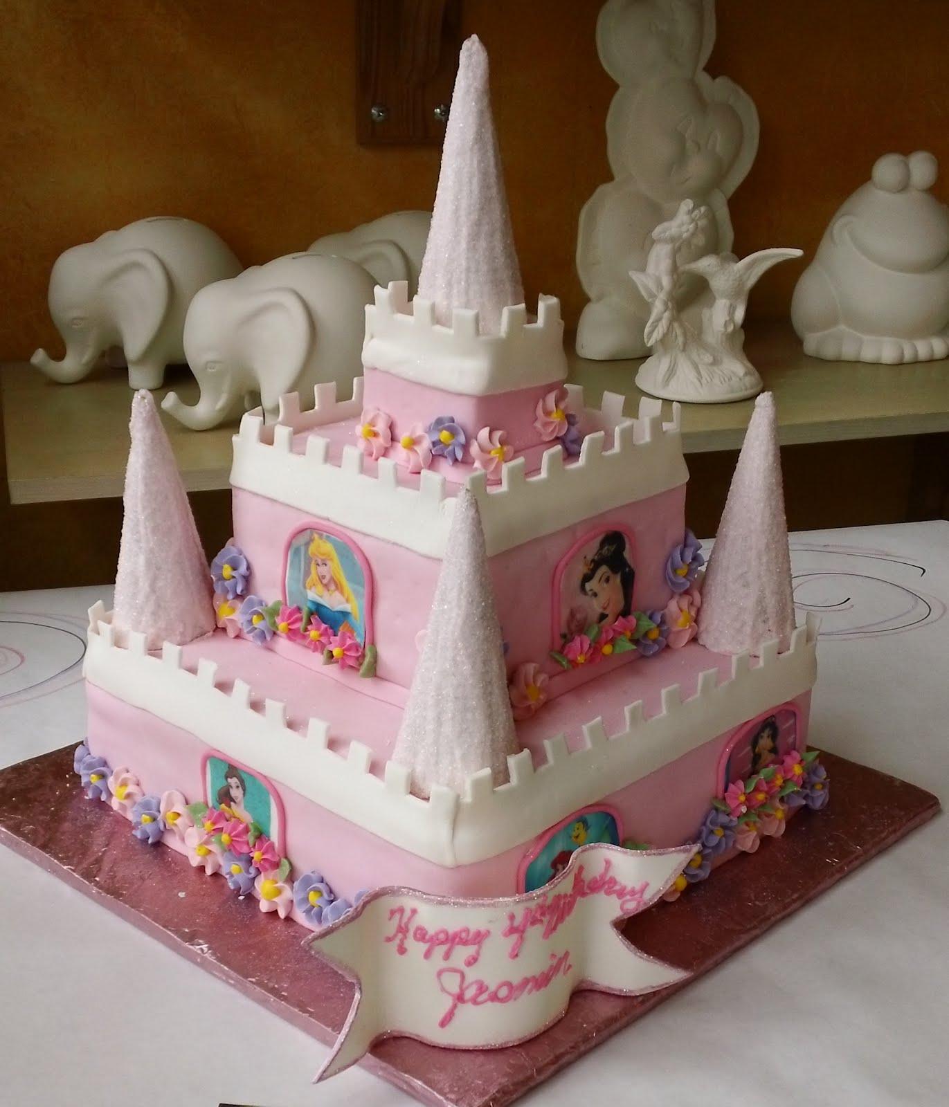 How To Make A Fairy Princess Castle Cake