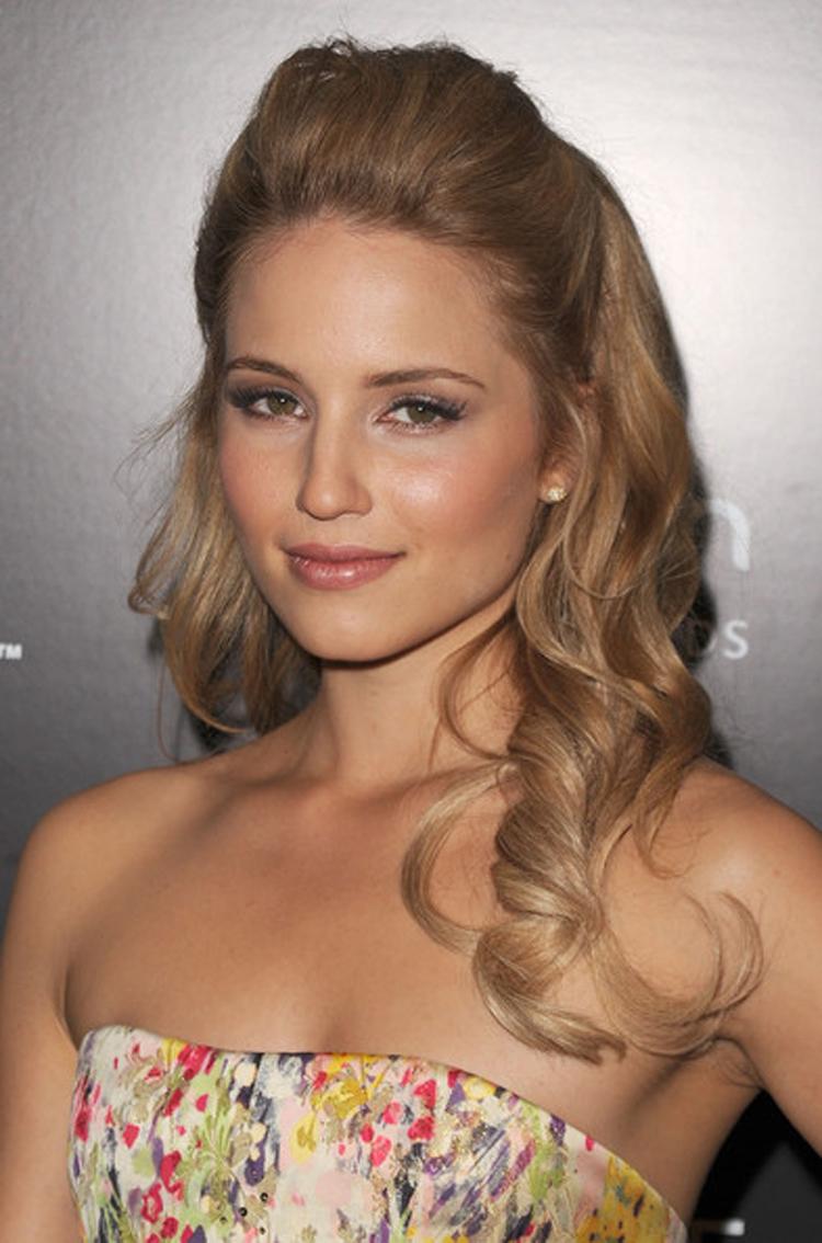 Fresh Look Celebrity Dianna Agron Hairstyles 13