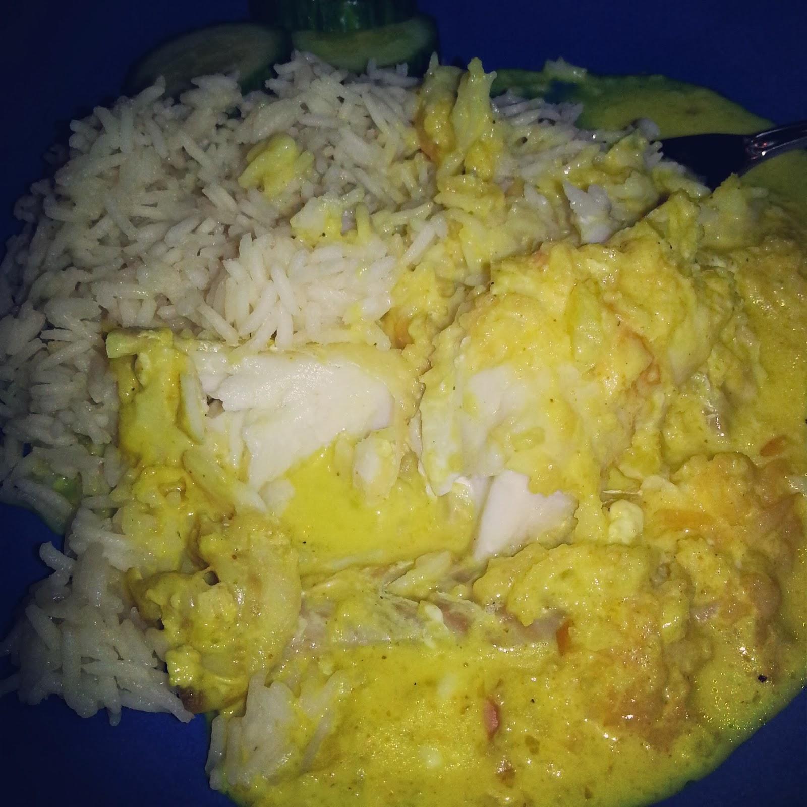 curryfisk i ugn