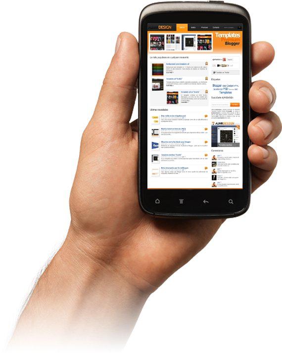 Test dispositivo móvil para ver el blog