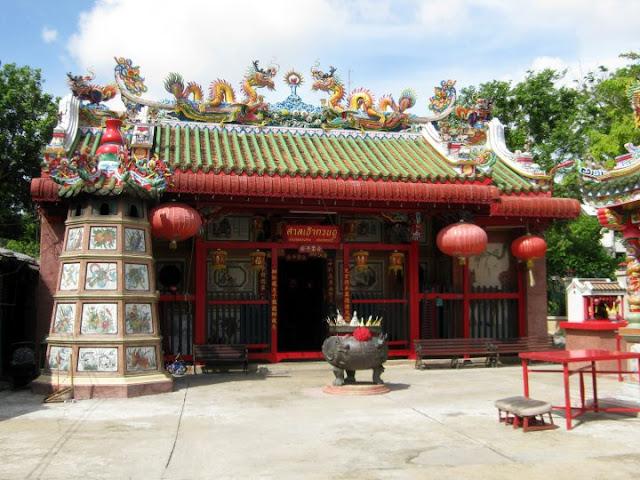 ศาลเจ้ากวนอู คลองสาน ธนบุรี เก่าแก่ที่สุดในประเทศไทย