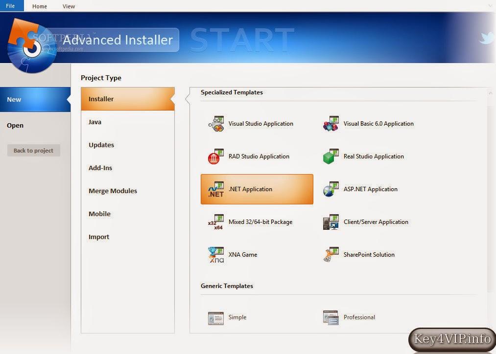 Advanced Installer Professional 11.4 Full,Phần mềm tạo gói cài đặt chương trình