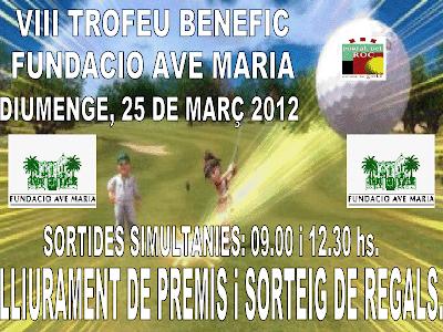torneig Benefic Ave Maria P&P Portal Roc