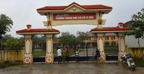 Quảng Bình: Nổ bom ở trường học, một học sinh thiệt mạng, một bị thương nặng