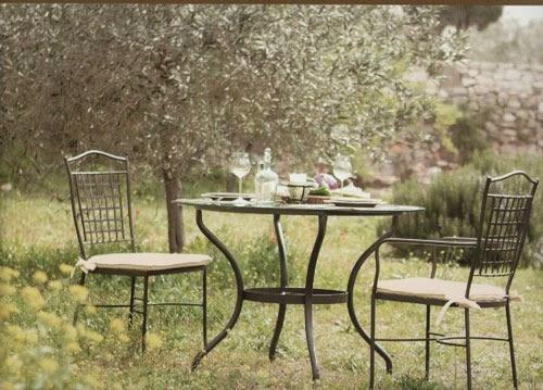 Muebles navas feria de la primavera muebles de exterior - Mesas de piedra para exterior ...