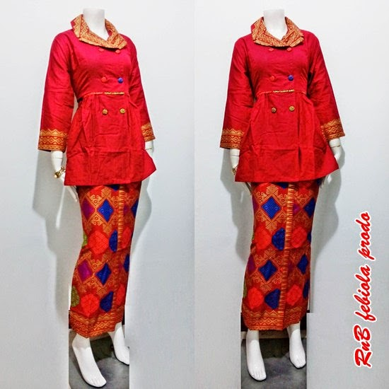 Baju Batik Setelan Model Febiola Prodo Batik Bagoes Solo