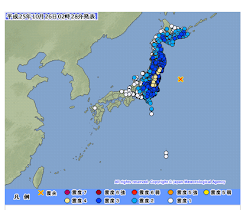 Fukushima: October 2013 a 7.3 magnitude earthquake off Japan prompts Fukushima plant evacuation