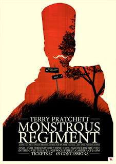 Monstrous Regiment poster, directed by Amy Davies