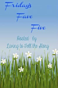http://susannesspace.blogspot.com/2015/07/fridays-fave-five-338.html