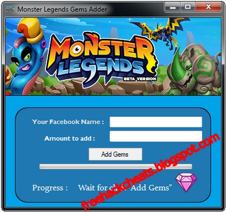 download monster legends cheat tool