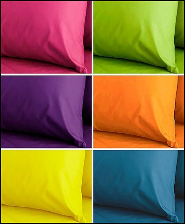 Kaleidoscope Bright Colored Sheets. by Alamode Bedding available from ...