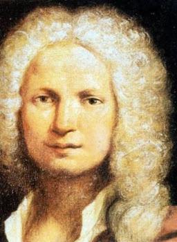 El violinista veneciano Antonio Vivaldi (1678-1741).-