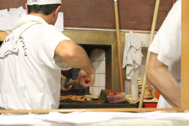 Pizzaioli at Pizzeria da Baffetto, Rome, Italy