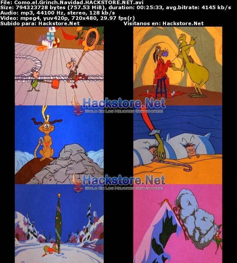 Captura El Grinch: El Cuento Animado (1966) DVDRip Latino