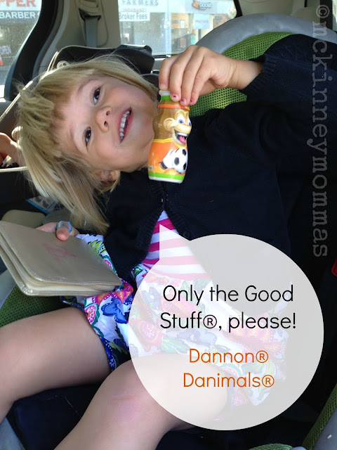only the good stuff, danimals, dannon, mckinneymommas
