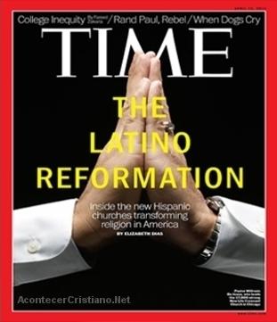Revista Time destaca crecimiento de iglesias evangélicas en EE.UU.