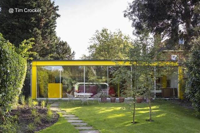Casa Moderna en Londres de fines años 60 diseño de Richard y Su Rogers