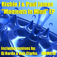 Richie J Paul James Moments In Mind EP Beats Me Musix