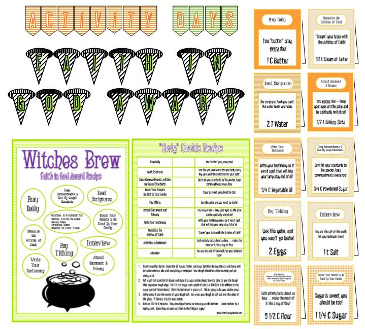 Witches Brew - Faith In God Recipe