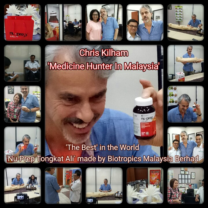 The Worlds Best Tongkat Ali 'ONE AND ONLY' clinically tested Nu-Prep Tongkat Ali