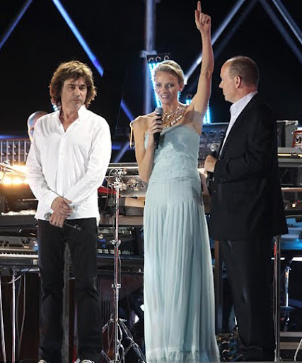Концерт на Жан-Мишел Жар на сватбата в Монако