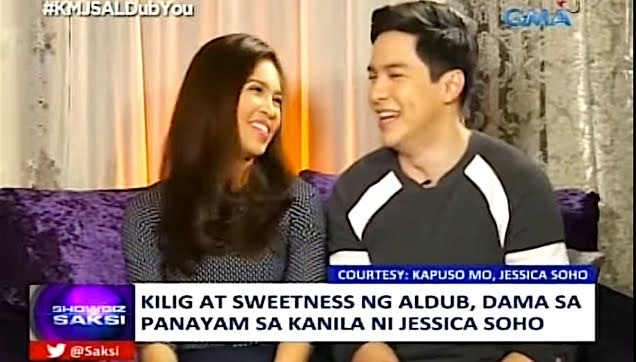 ALDUB first interview together with Jessica Soho
