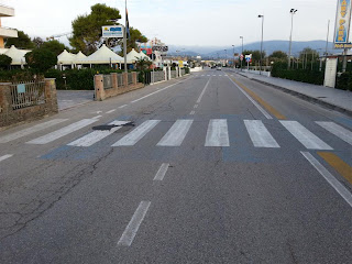 pista ciclabile a Marcelli di Numana