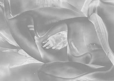 High Value Sample:  from an original encaustic wax painting by Carol Trammel
